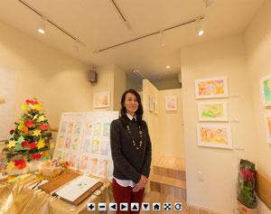 伝統美と光のコラボ・ワンネスアート 若生ひとみ展Ⅳ